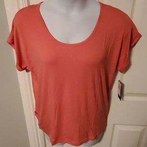 PL Movement by Athleta Open Back Tee